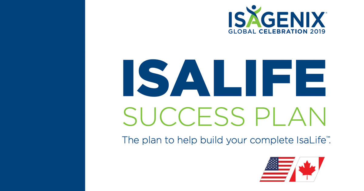 isalife success plan  u2013 celebration 2019  u2013 isagenix business
