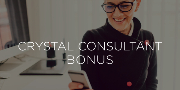 Crystal Consultant Bonus - Isagenix Business Promotions